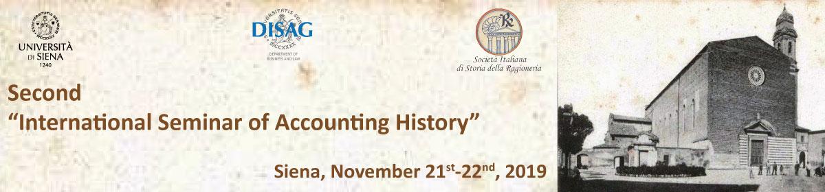 """Second """"International Seminar  of Accounting History"""" (ISAH)"""